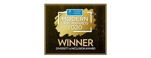 2020 Modern Law Awards - Diversity & Inclusion Award