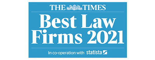 MSB Solicitors - The Times - Best Law Firms 2021