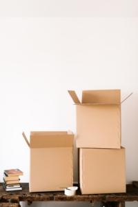 3 Cardboard Boxes